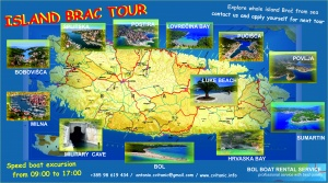 ISLAND BRAC TOUR-program