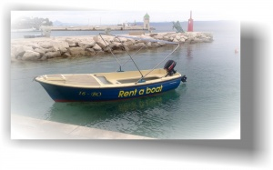 "Beach boat ""Mila"""