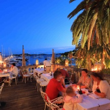 Fine dining and superb views in Hvar